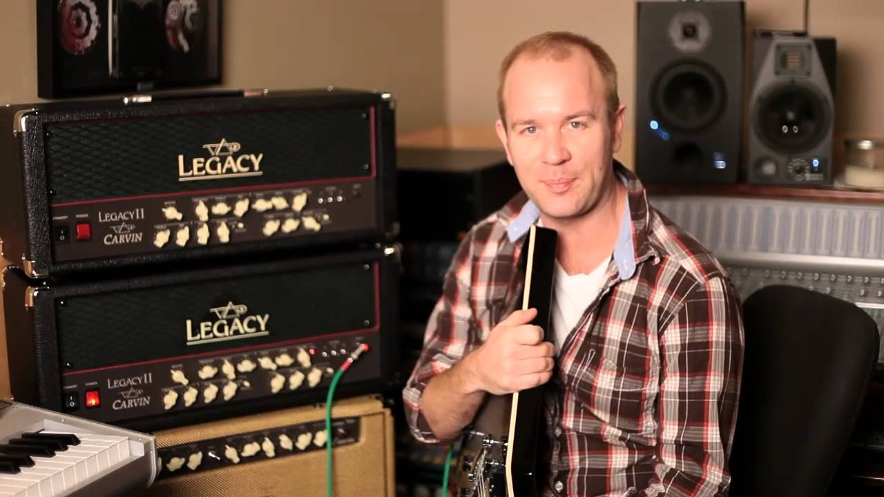 Carvin Brendon Small Interview Youtube