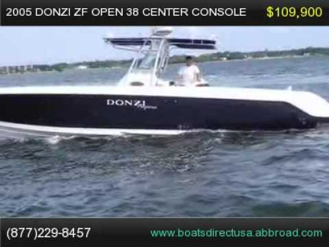 27977 >> 2005 Donzi ZF open 38 Center Console, Florida Boat for Sale - YouTube