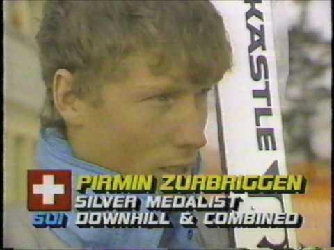 1987 FIS World Alpine Ski Championships - Men's Super Giant Slalom