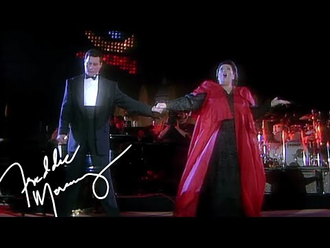 Freddie Mercury & Montserrat Caballé  How Can I Go On  at La Nit, 1988