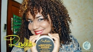 60 Rissos - SheaMoisture African Black Soap Purification Masque ♥Reseña♥