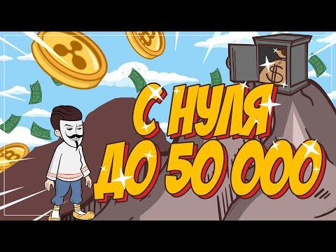 С нуля до 50 000 рублей. Первая серия [Зарабатываем с полного нуля в интернете]