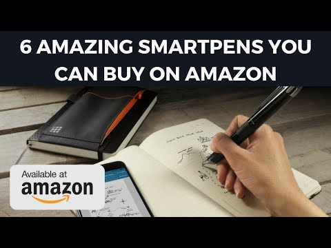 6 Amazing Smartpens You Can Buy on Amazon - Cheapest Smart Pens