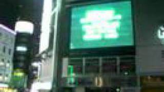 自分が作成した映画の予告編が新橋駅前の街頭ビジョンで流れてます。 2...