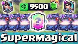SUPER MAGICAL CHEST OPENING!? | LEGENDARY CARD PRANK! | 9500 Gems! | Clash Royale [deutsch/german]