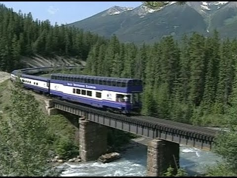 Canada: The Train Journey through the Rockies