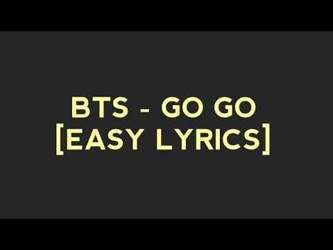 BTS - GO GO [EASY LYRICS]