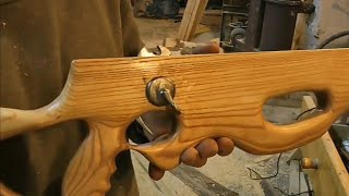 видео: Арбалет своими руками (часть№2 курковый механизм)