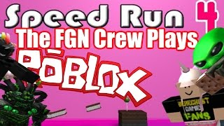 "The FGN Crew Plays: ROBLOX - Speed Run 4 ""I will NEVER give up!"" (PC)"