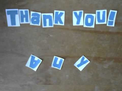 Stop-motion Animation:Thanks for Listening