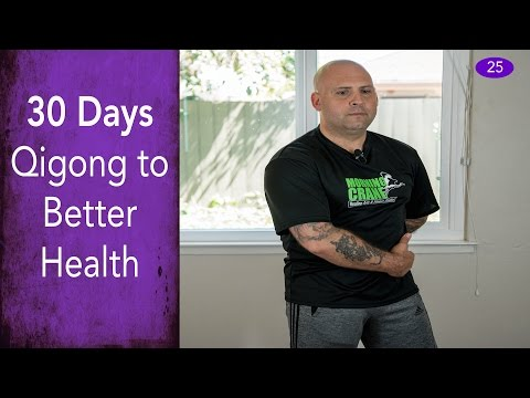 Day #25 - Wrapping The Waist - 30 Days of Qigong to Better Health