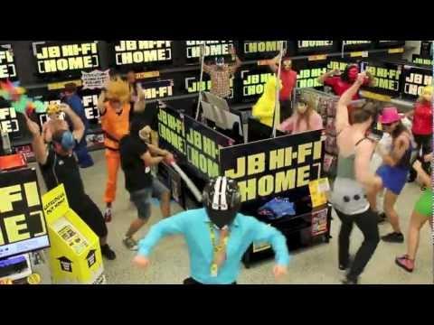 JB HiFi Home Mount Gravatt - Harlem Shake