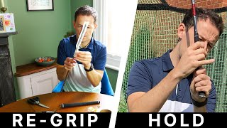 How to Re-rip Your Golf Club AND How to Hold the Golf Club Correctly - 2 in 1 Golf Lesson