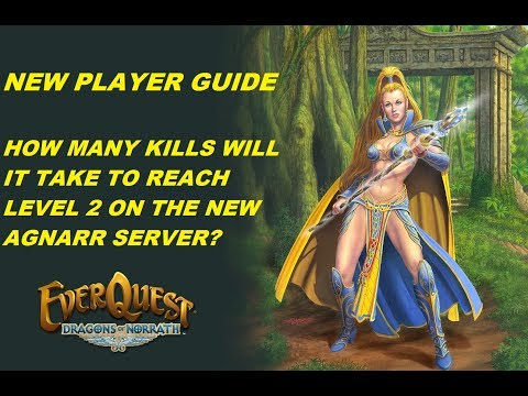 EVERQUEST GUIDE - How many solo kills will it take to reach level 2 on  Agnarr? (1080p)