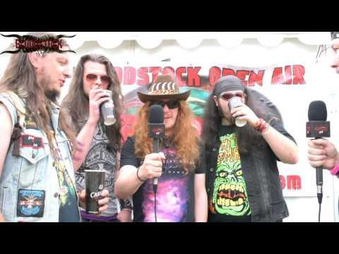 FOOTPRINTS IN THE CUSTARD  Interview Bloodstock 2016 - Hobgoblin Newblood Stage
