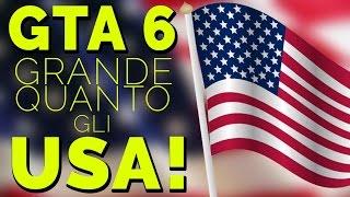 GTA 6: GRANDE QUANTO L'AMERICA?!