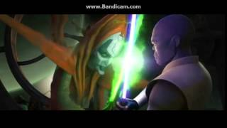 Star Wars the Clone Wars: Mace Windu vs Mother Talzin