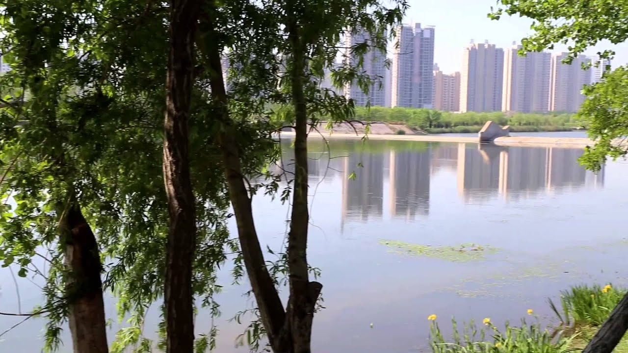 山東省海陽市國家城市濕地公園 - YouTube