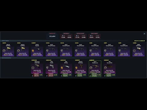 CSGO Tradeups #5 RISKY, EXPENSIVE, restricted and classified attempts!!!