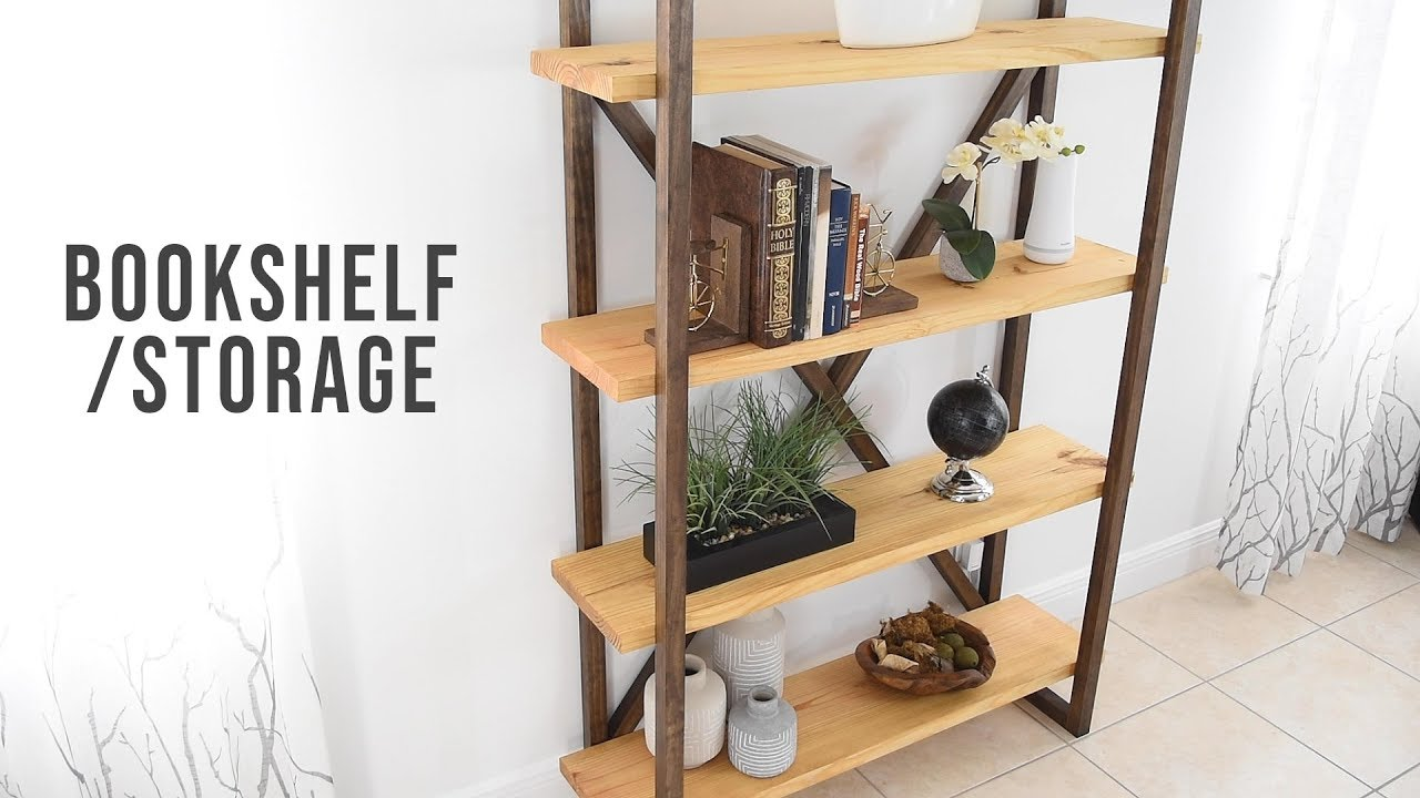 Download DIY Bookshelf - Storage & Organization