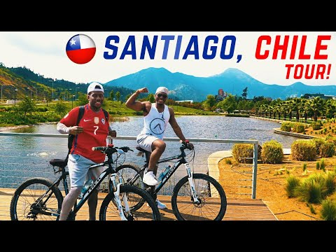 TRAVELLING AROUND SANTIAGO CHILE! | Travel Vlog
