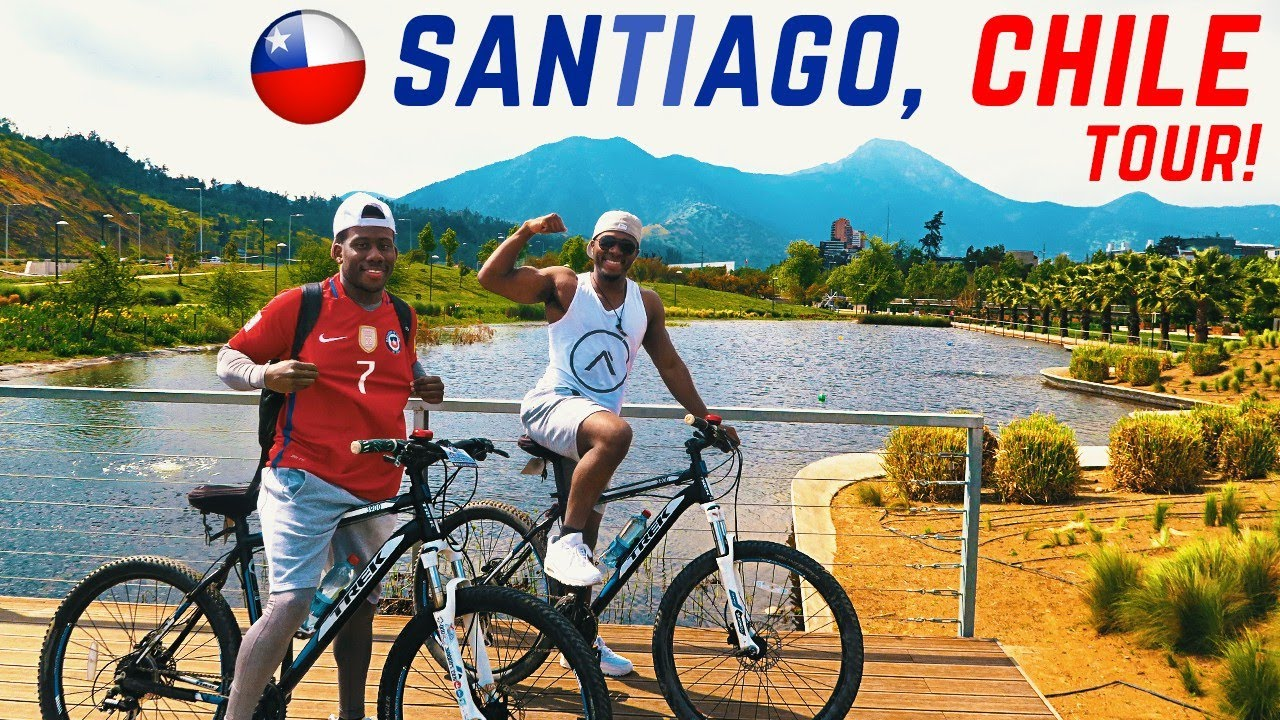 OUR FIRST TIME TRAVELLING TO SANTIAGO CHILE!