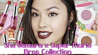 NEW 2017 Shu Uemura Art of Beauty x Super Mario Bros Collection | Haul, Demo & Review