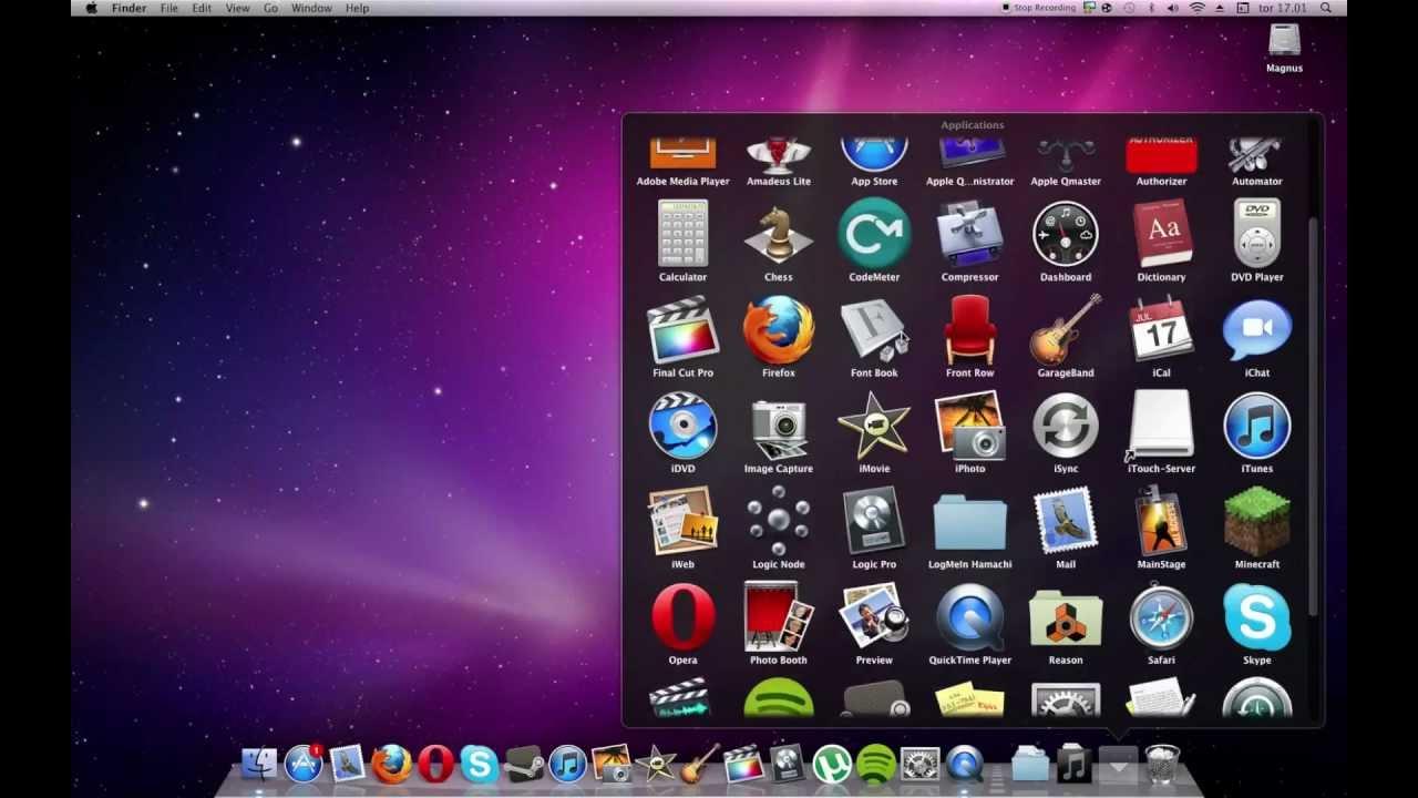 put applications on mac dock