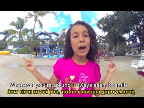Becky G - Shower (lyrics-GREEK lyrics )