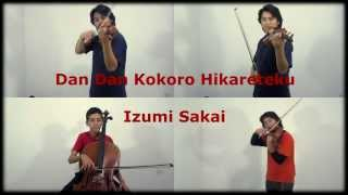 Dragon Ball GT - Dan Dan Kokoro Hikareteku - Strings Quartet (cuarteto de cuerdas)