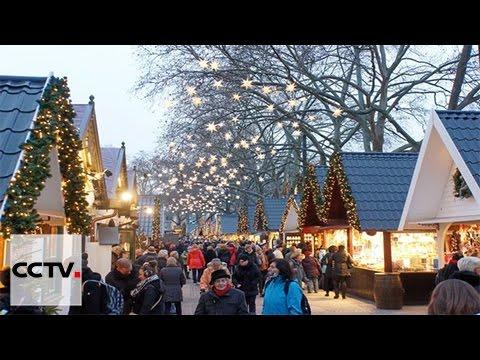 Sweden's biggest Christmas market brings festive cheer