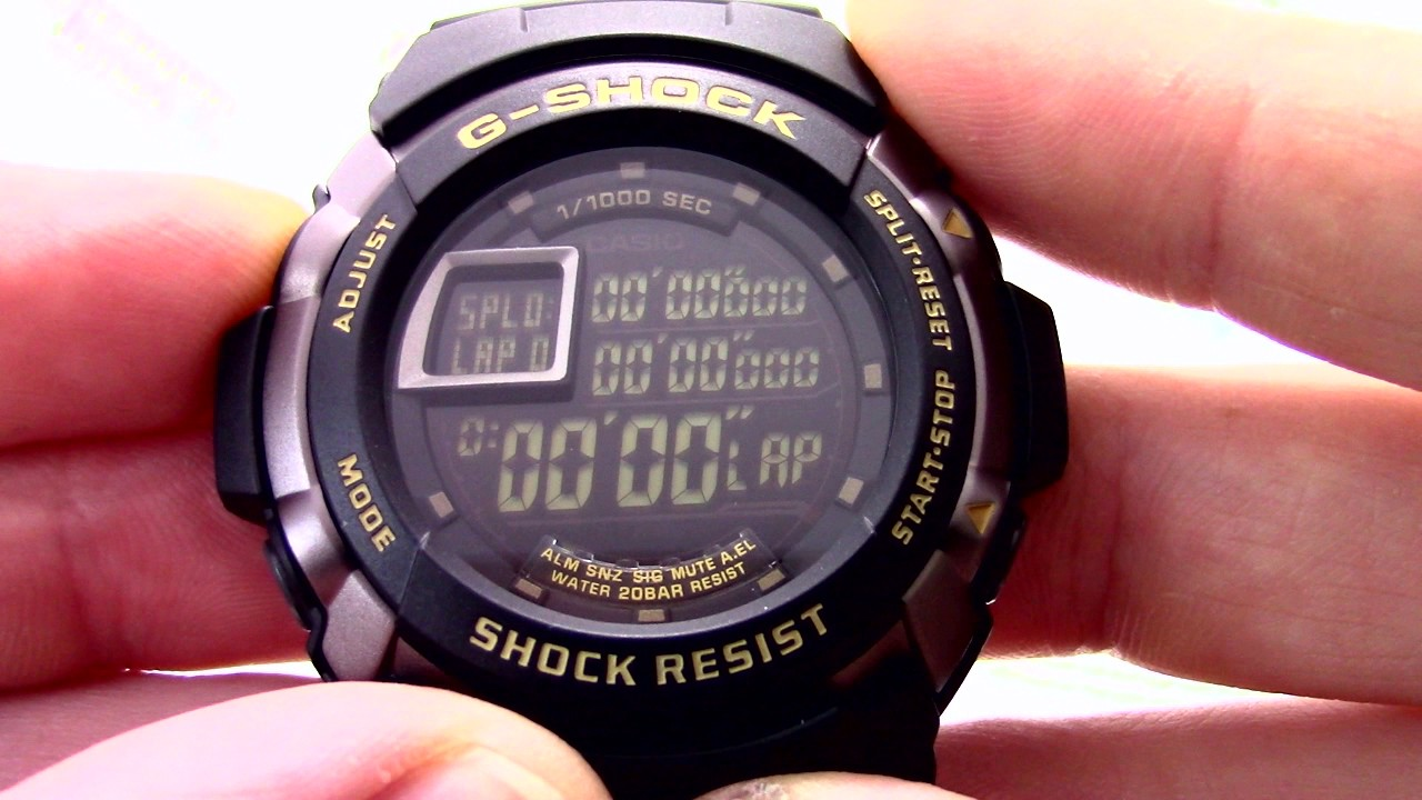 инструкция casio g-shock g7710