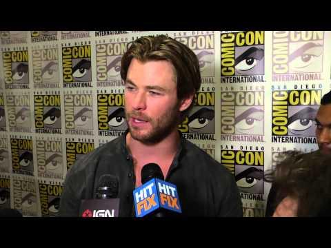 Chris Hemsworth says that James Spader is so damn good in 'Avengers 2'