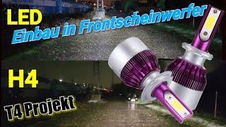 LED in Frontscheinwerfer einbauen T4 Projekt Frontscheinwerfer umrüsten