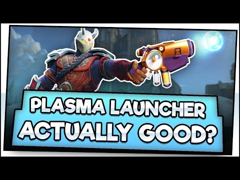 PLASMA LAUNCHER IS ACTUALLY GOOD?? Realm Royale Masters Gameplay