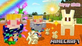 Bocil Minecraft Survival Menemukan Mesa Biome! 😱🐇🏜 | Minecraft Survival | Happy Alicia