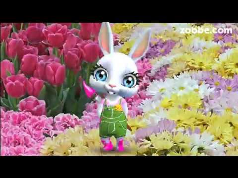 ZOOBE зайка Поздравление Подруге с 1 Апреля - Поиск видео на компьютер, мобильный, android, ios
