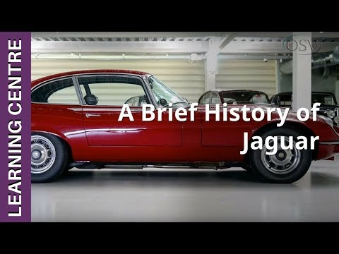 A Brief History Of Jaguar | OSV Learning Centre