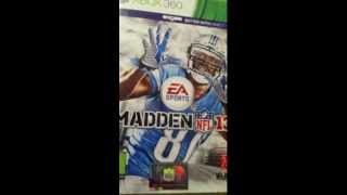 Madden NFL 13 Review/unboxing