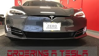 Tesla Order To Delivery Part 1 - The Ordering Process