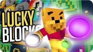 LUCKY BLOCKS: ESCUPITAJO DE LA FORTUNA | Sara, Exo, Gona y Luh en Minecraft