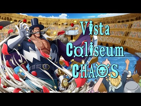 One Piece Treasure Cruise | Vista Coliseum CHAOS Completo