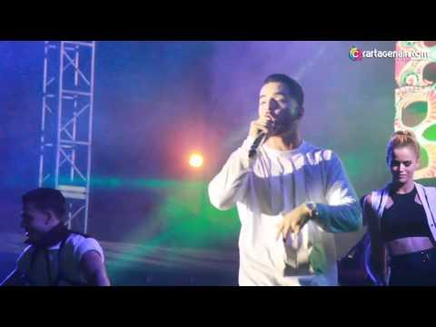 Maluma en vivo Metro Concierto Cartagena 2017