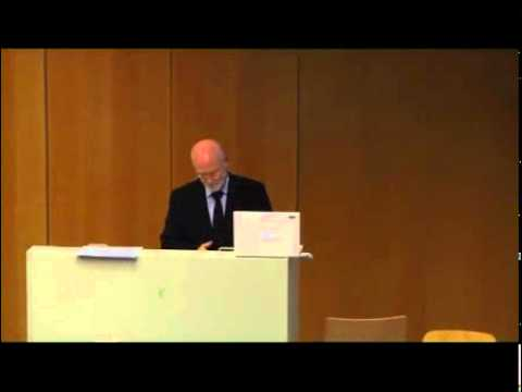 Sustainability Lectures 2010/2011 -- Bill Scott