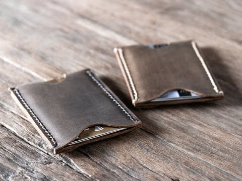 Leather business card holder by joojoobs youtube leather business card holder by joojoobs colourmoves