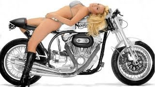 Cafe Racers Babes & Posters Pangels best 0016