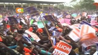 Viongozi wa NASA wafanya kampeni Narok