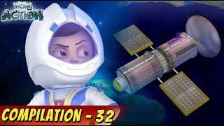 Vir: The Robot Boy | Hindi Cartoons | Cartoon For Kids | Compilation 32 | WowKidz Action