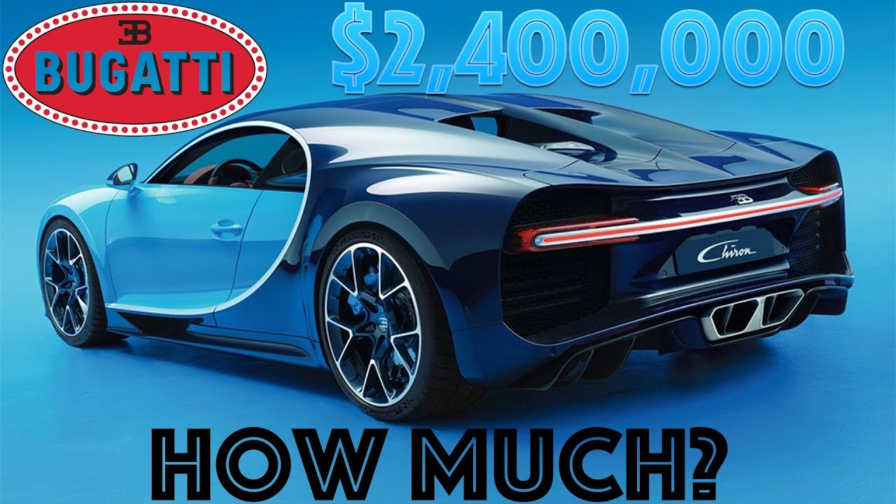 bugatti chiron 2016 2 400 000 how much youtube. Black Bedroom Furniture Sets. Home Design Ideas