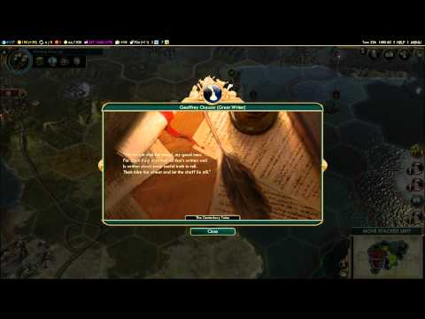 Civilization V: A Brave New World - The Canterbury Tales by Geoffrey Chaucer